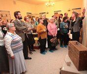 Открытие выставки «Неперемолотые. Опыт духовного сопротивления в XX веке», первого выставочного проекта КПЦ «Преображение». 7 февраля 2011 года