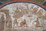 Фреска из катакомбы св. Домициллы