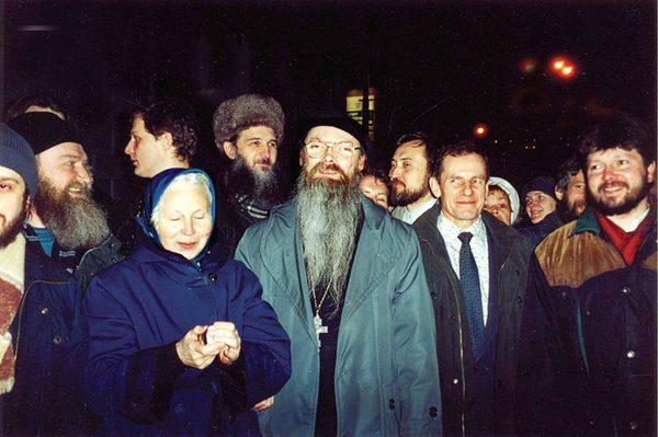 В день снятия прещений. 15 марта 2000 года