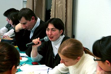 Председатель Ассоциации выпускников и студентов СФИ Анна Алиева