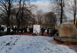 «Молитва памяти» в Санкт-Петербурге