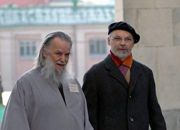 Протоиерей Павел Адельгейм и священник Георгий Кочетков