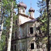 Воскресенская церковь с. Бовыкина. Фото 2008 г. (храм заброшен)