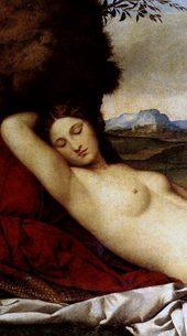 Джорджоне «Спящая Венера». 1510 г.