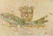 Фреска из катакомбы св. Каллиста
