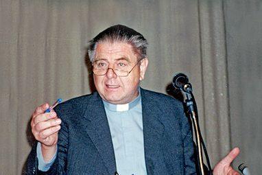 Профессор Венского университета Эрнст Христофор Суттнер. Конференция СФИ «Язык церкви», 1998 год