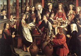 Герард Давид. Брак в Кане, 1500-1510. Лувр
