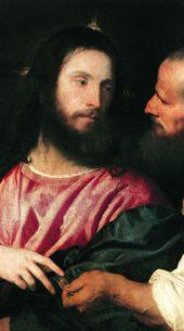 Тициан Вечеллио «Динарий кесаря». 1516 г.