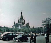 Храм Воскресения Христова в Сокольниках (Москва). 1962 г. Источник фото: www.oldmos.ru