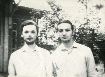 Георгий Кочетков и Александр Копировский. 1972 г.
