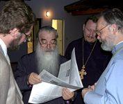Митрополит Минский и Слуцкий Филарет. Конференция в Бозе (Италия). 2006 г.