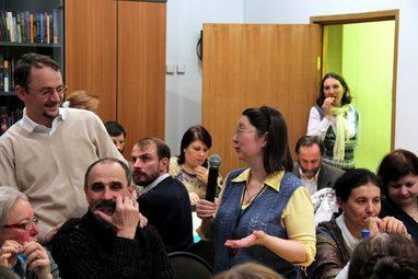 Традиционная ежегодная трапеза-агапа выпускников и студентов института, 2013 год