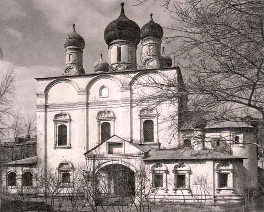 Cобор Владимирской иконы Божьей Матери бывшего Сретенского монастыря